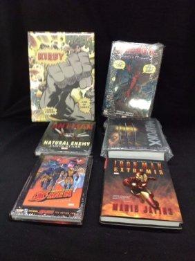 Lot of 6 Marvel Books