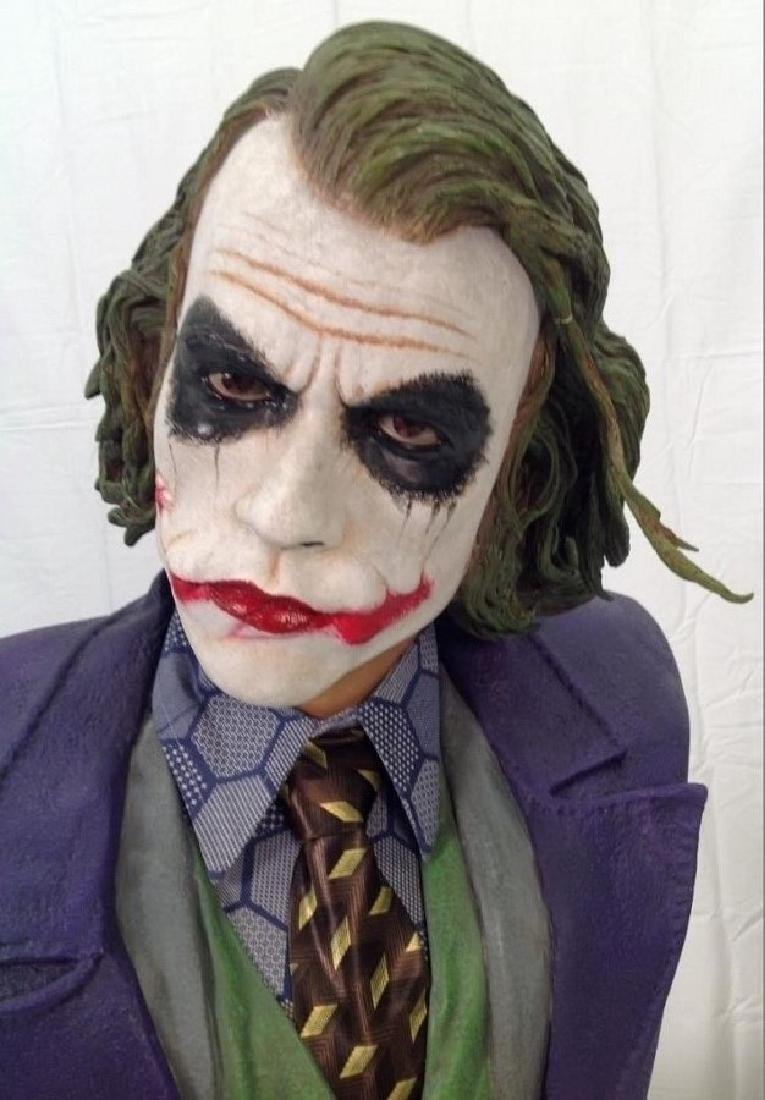 "The Dark Knight ""Joker"" Life Size Bust by Hollywood"