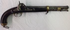 CS Richmond Model 1855 58 Cal Single Shot Pistol