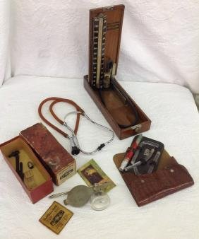 Lot of 4 Medical Antique Instruments