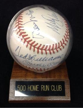500 Home Run Club Baseball