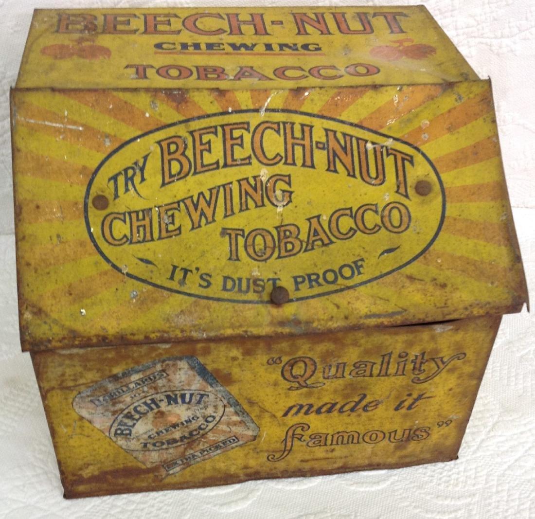 Beechnut Chew Tobacco Advertising Display