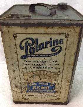 Polarine Motor Car And Motorboat Lubrication