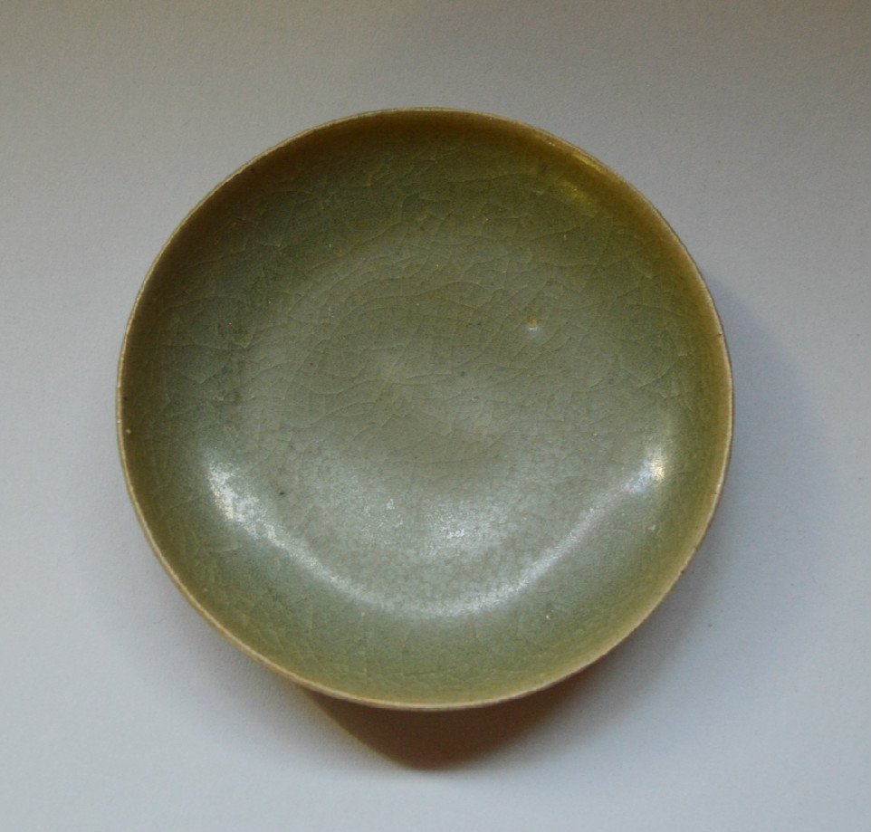 An Older Long Quan Small Dish