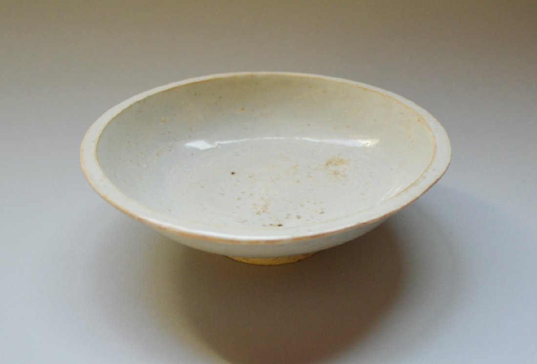 A Fine 18th Century or Earlier Qing Bai Dish