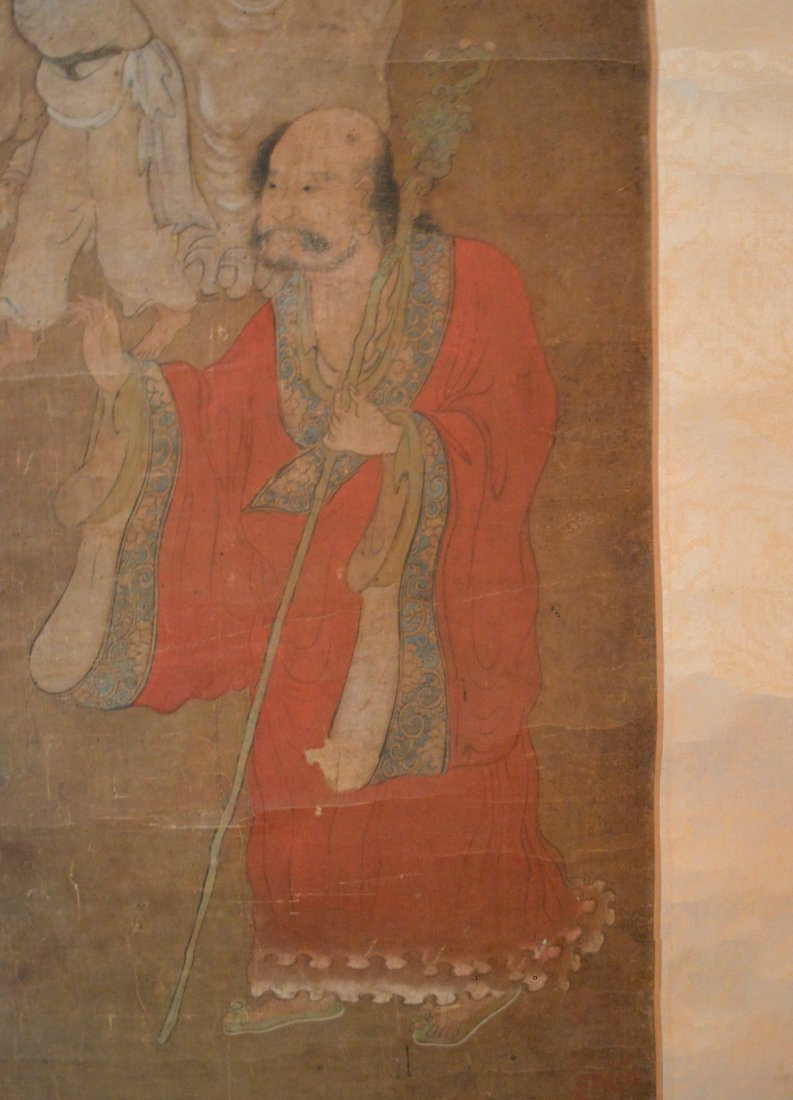 An Important Chan Buddhist Scroll Painting of Da Mo