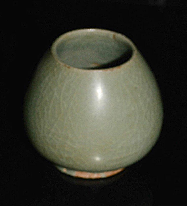 Ming Dynasty Long Quan Brush Pot