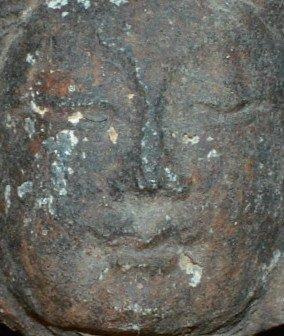 Song Yuan Dynasty Small Stone Quan Yin Head