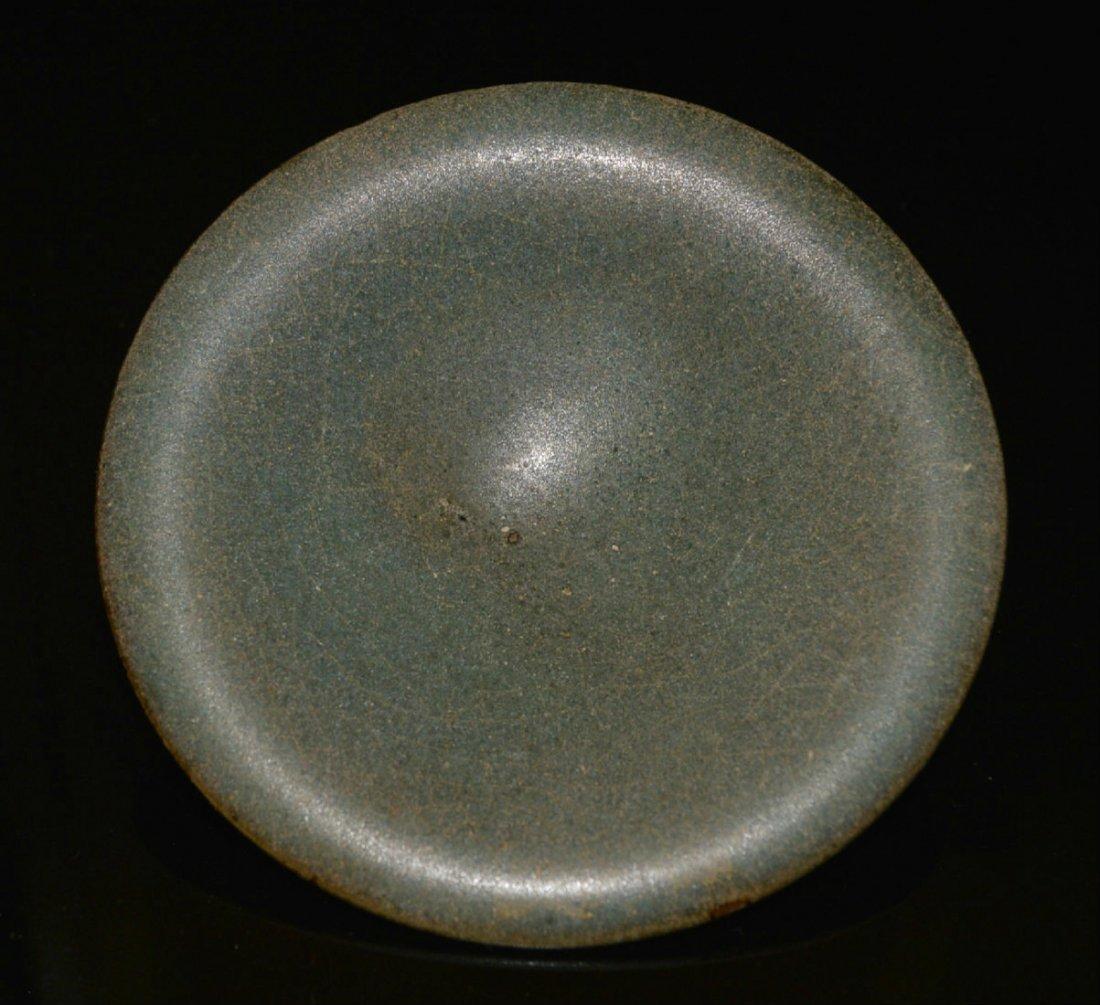 Song Ming Dynasty Small Jun Kiln Sauce Dish