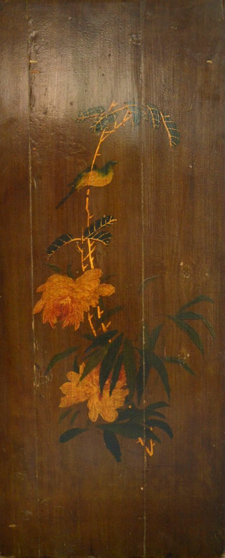 Qing Dynasty Painting on Wood Panel #2