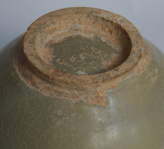 Song Ming Dynasty Longquan 2 Handle Jar - 5
