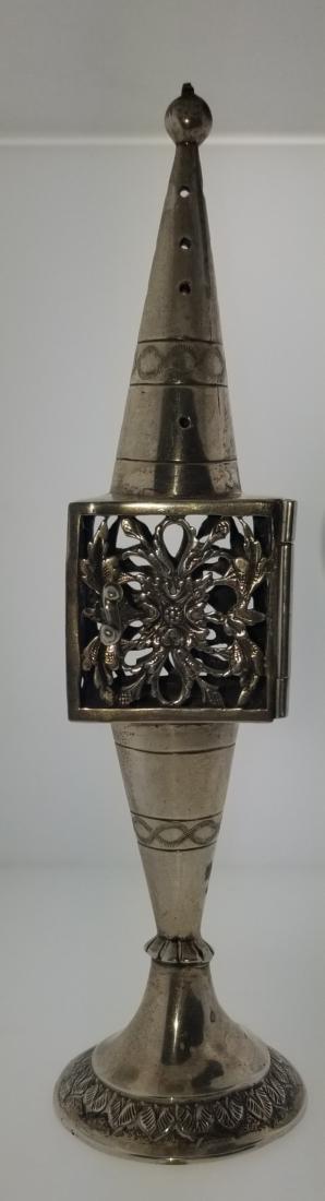 800 Silver Handmade Besamim Spice Holder 94.1g