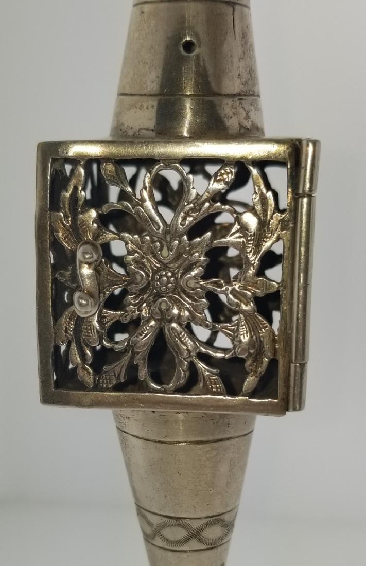 800 Silver Handmade Besamim Spice Holder 94.1g - 2