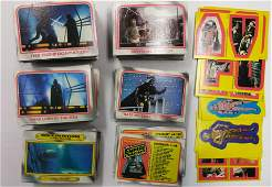 1980 Topps Empire Strikes Back Star Wars Cards+Stickers