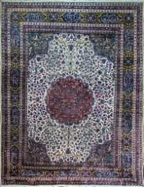 "Antique Persian Tabriz, 10'3"" x 14"
