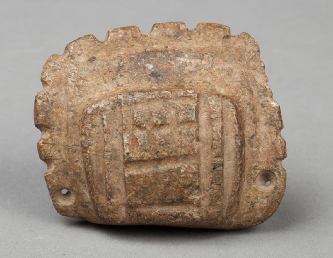 Mezcala talismanic pendant