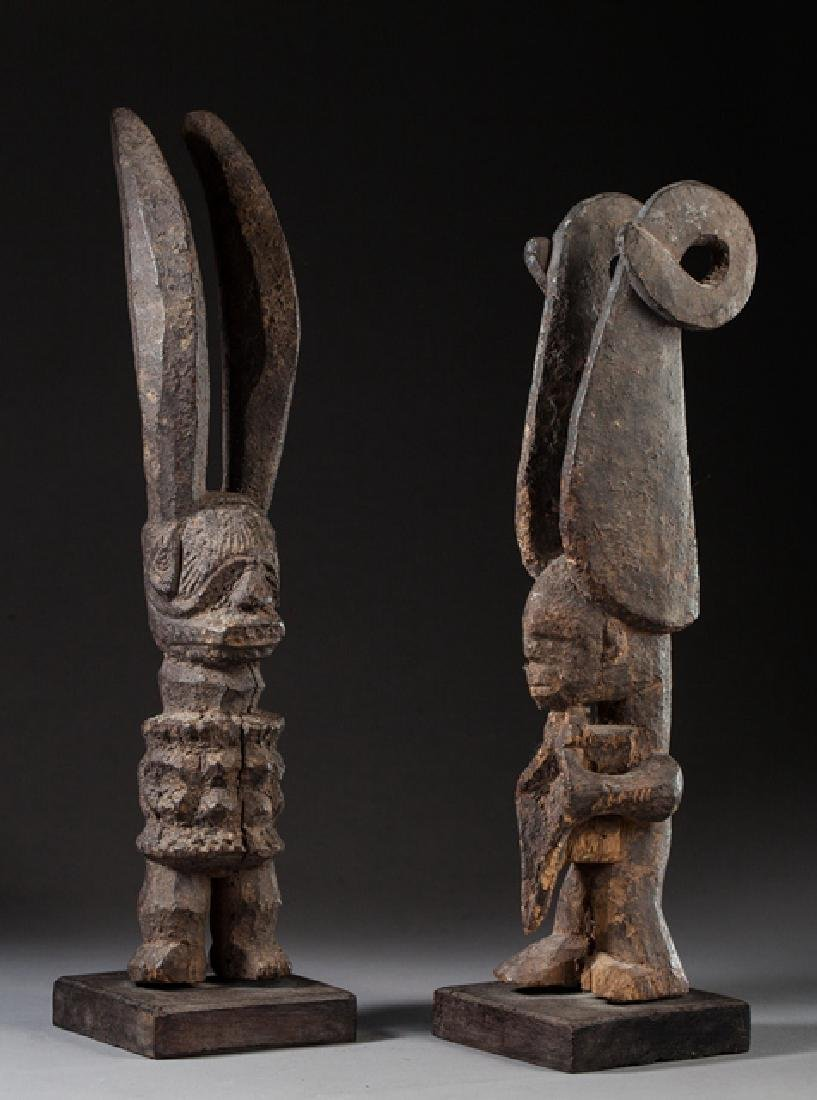 Pair of Igbo votive statues