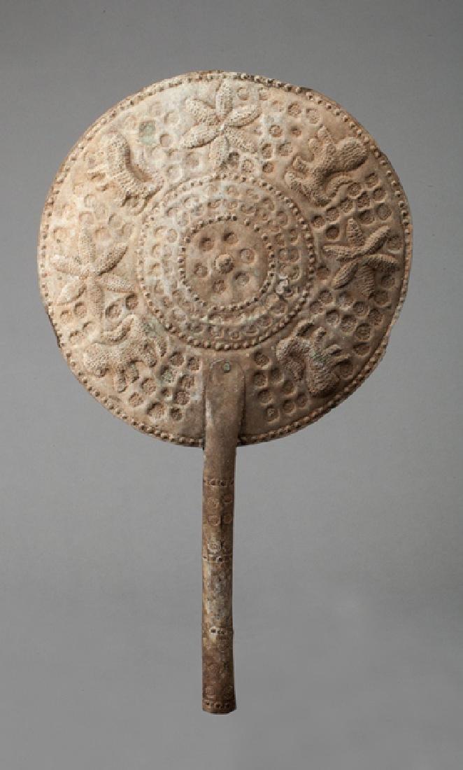Yoruba ceremonial fan