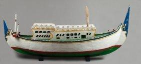 Diminutive Douala boat