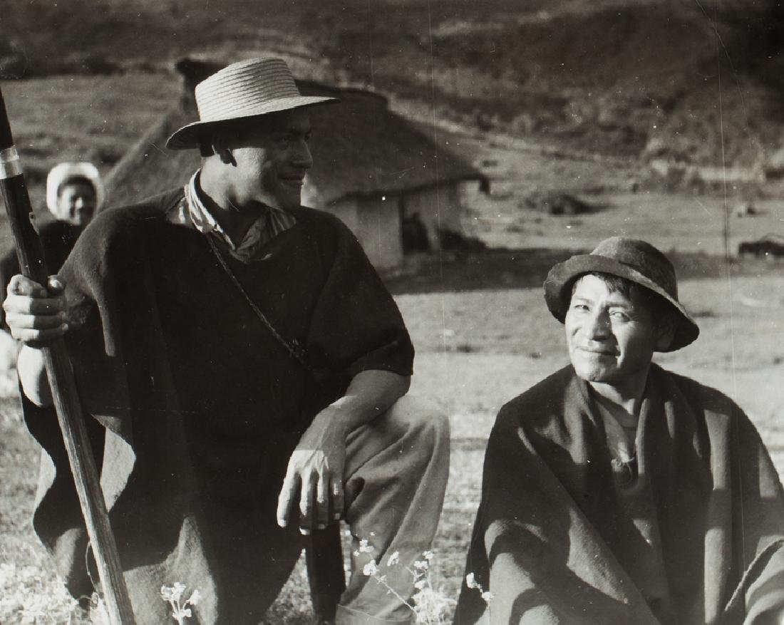 KINGALL Nat - Puez Indians, Popayan, Colombia 20,5x25,5