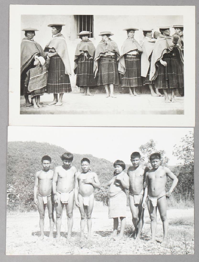 Group of Motilones Children, Rio de Oro and postcard