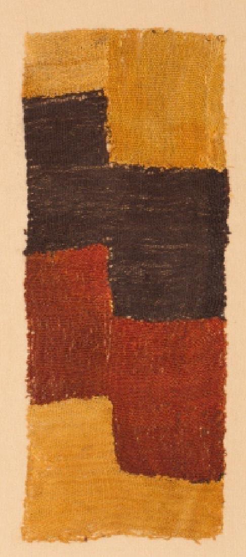 Nazca polychrome fabric