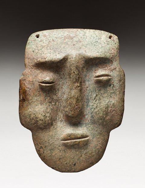Chontal portrait mask