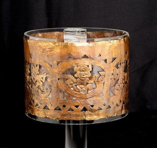 Sican ceremonial crown