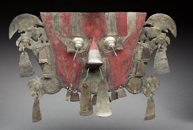 Large ceremonial mask