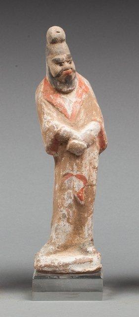 Han bird man statue