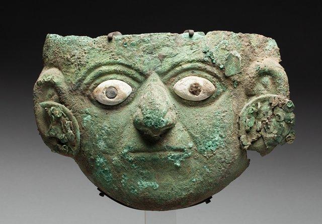 Moche ceremonial mask