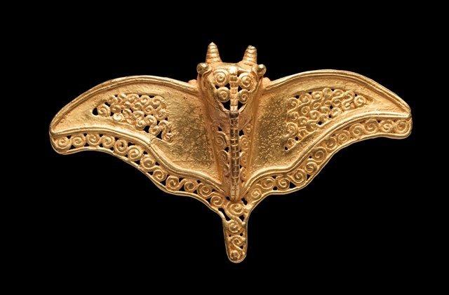 Rare diquis gold pendant
