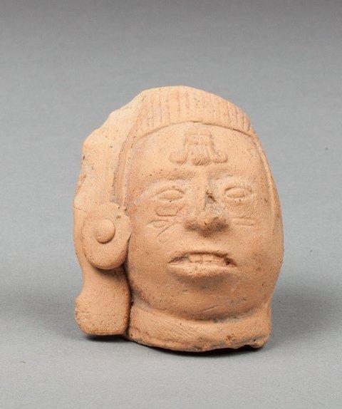 Maya dignitary head.