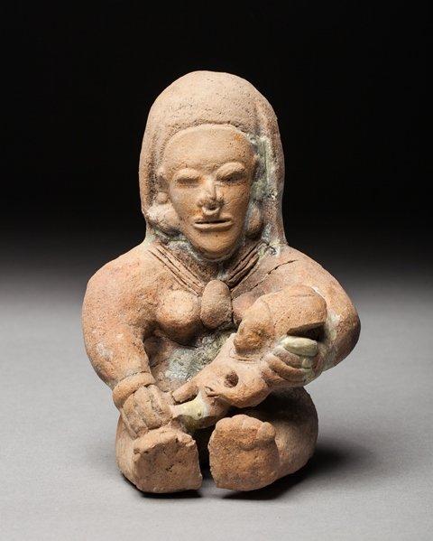 Bahia hominoid statue