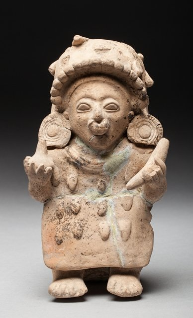 Jama Coaque shaman figure