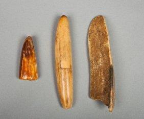 Three Eskimo Tools