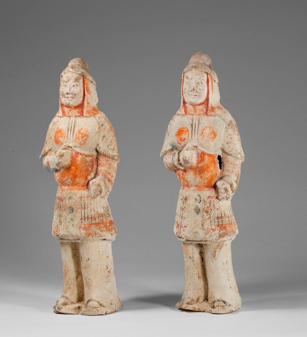 Two Weï warriors
