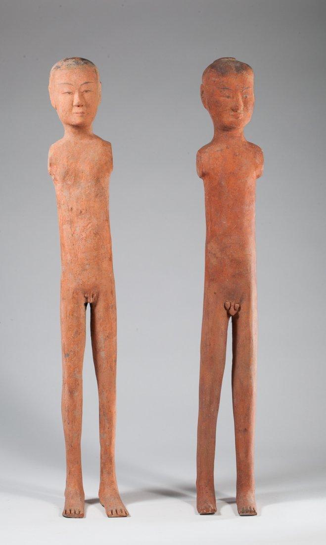 Two Han stickmans