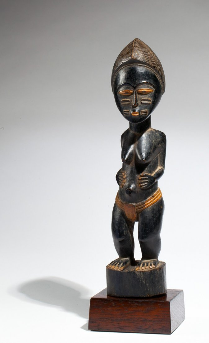 Baoule feminine statue
