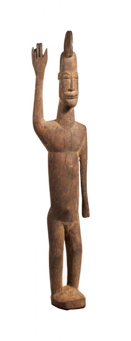 Lobi hominoid statue