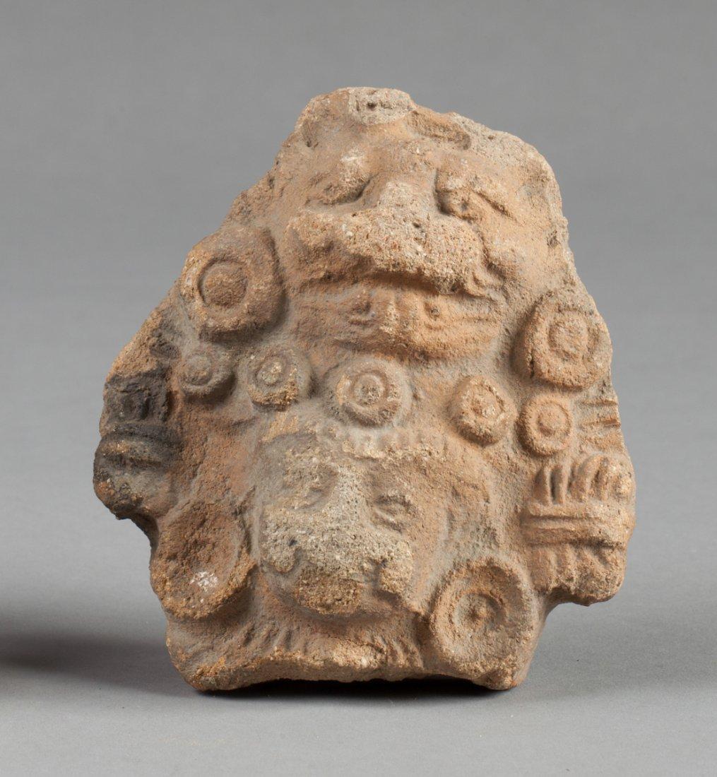 Zapotec priest head