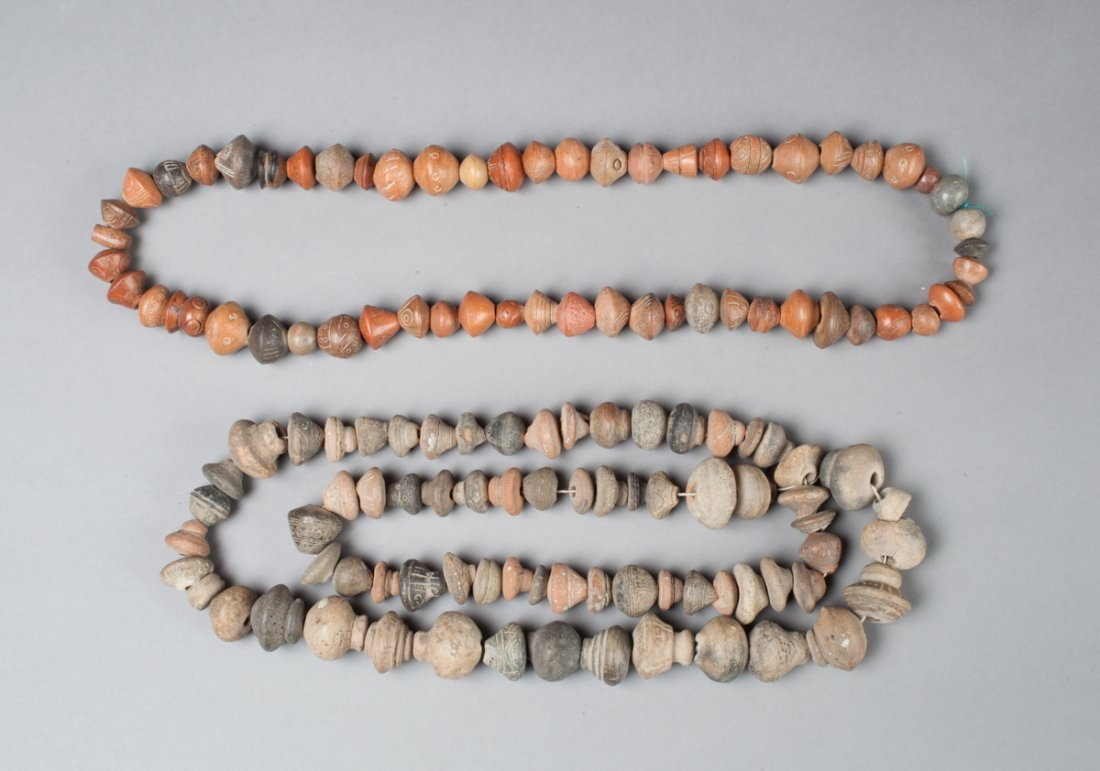 Two maya necklaces