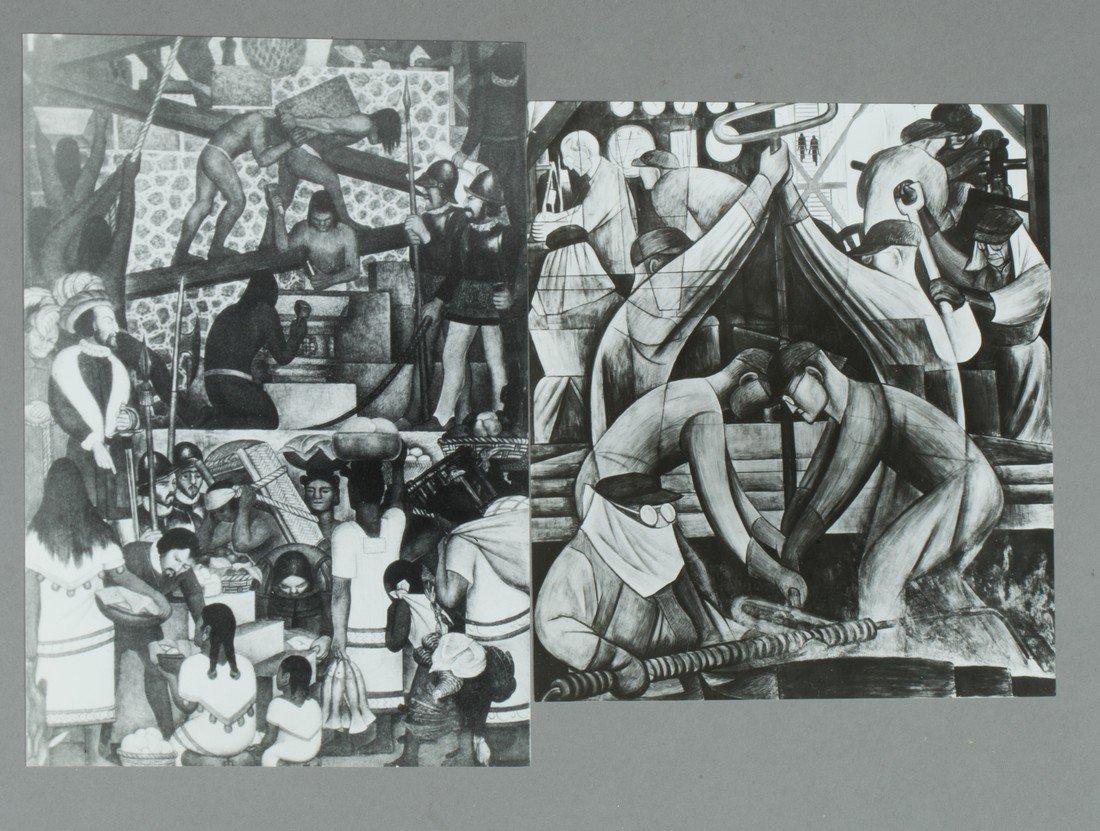 Various view of muralist frescos - 2