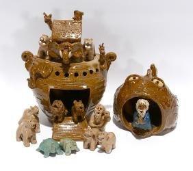 Crystal King. Noah's Ark & Jonah And The Whale.