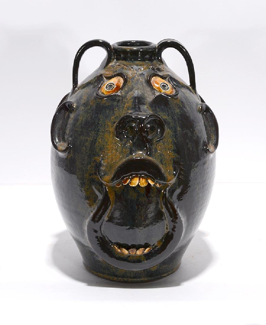 Roger Corn. Double-Sided Face Jug