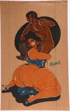 B.E. Riddick.  Big Momma Likes Fellatio.