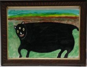 William Dawson.  Black Fat Cat.