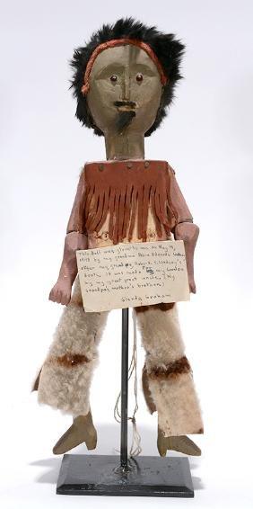 SW Comanche Limberjack Doll.