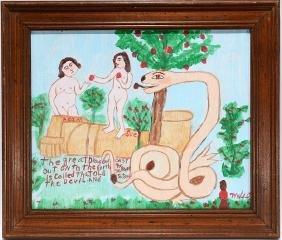 Myrtice West.  Adam and Eve.