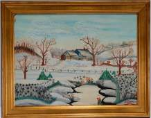 Isador Grand PA Sommer. Snowy Country House.